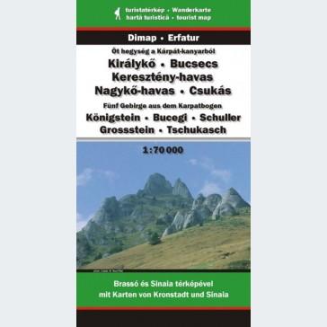 Öt hegység a Kárpát-kanyarból