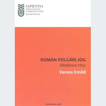 Román polgári jog. Általános rész