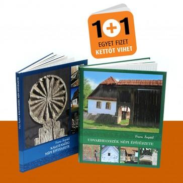 Népi építészet könyvek