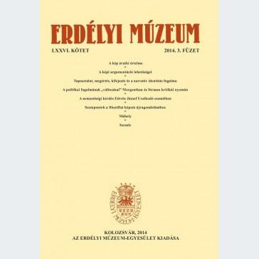 Erdélyi Múzeum 2014/3