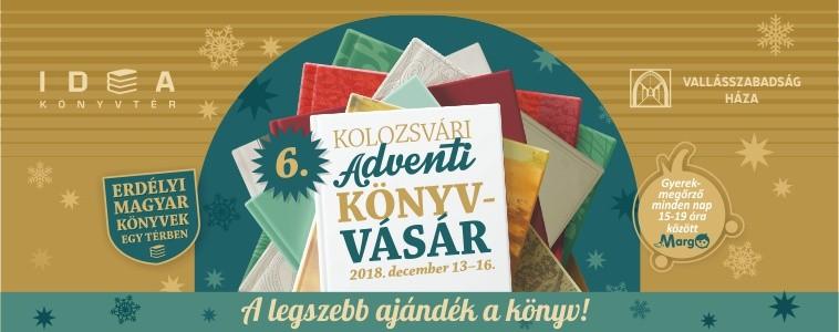 6. Kolozsvári Adventi könyvvásár