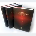 A moldvai magyar tájnyelv szótára (1-2. kötet)