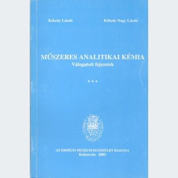Műszeres analitikai kémia 3. kötet