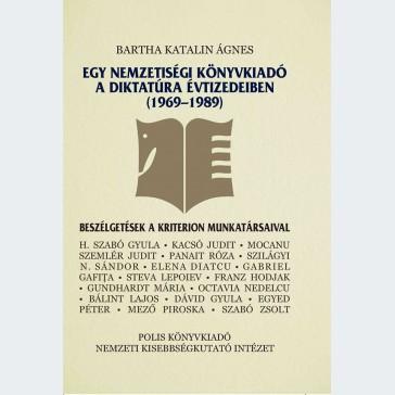 Egy nemzetiségi könyvkiadó a diktatúra évtizedeiben (1969–1989)